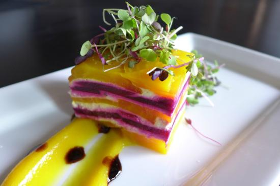 Lord Gore Restaurant at Manor Vail : Beet Terrine