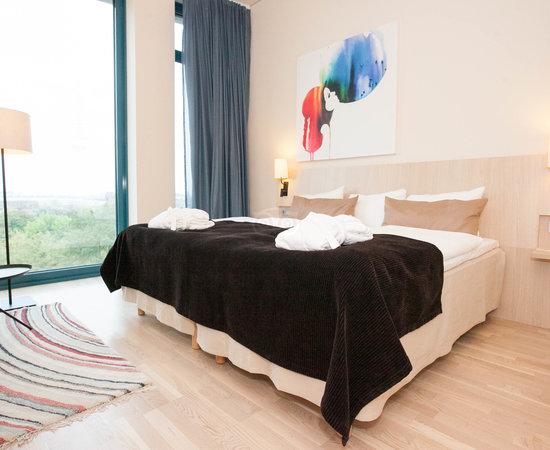The Superior Room at the Scandic Hamburg Emporio