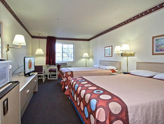 سوبر 8 سان أنطونيو/فييستا: 2 Queen Bed Room