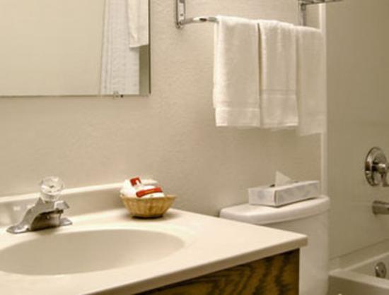 Super 8 by Wyndham Hampton: Bathroom