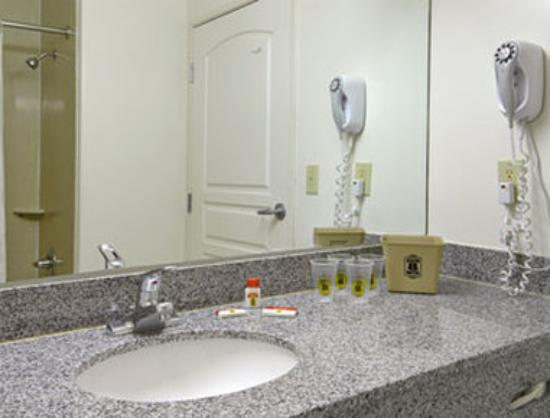 Super 8 Torrance LAX Airport Area: Bathroom