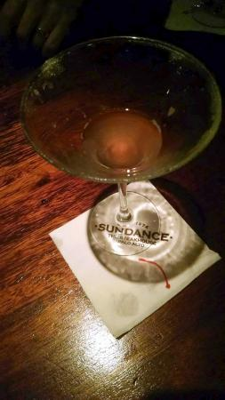 Sundance The Steakhouse : Pear Martini - oops! all gone!