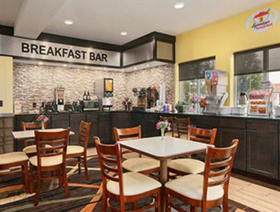 Super 8 Akron S/Green/Uniontown OH: Breakfast Area