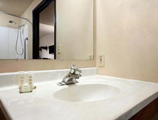 Super 8 Macon: ADA Bathroom