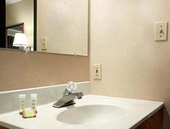 Super 8 Macon: Bathroom