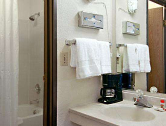 Super 8 Colorado Springs/AFA Area: Bathroom