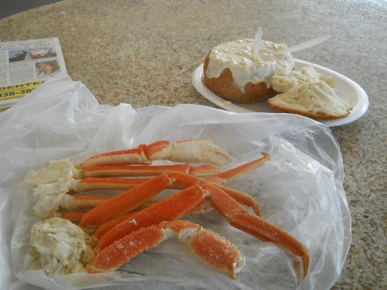 Quality Seafood: 蟹とクリームシチュー