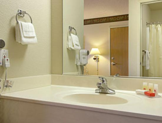 Ramada Limited Redding : Bathroom