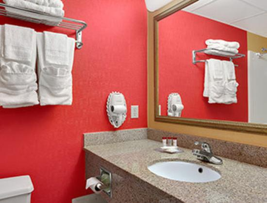 Ramada East Orange: Bathroom