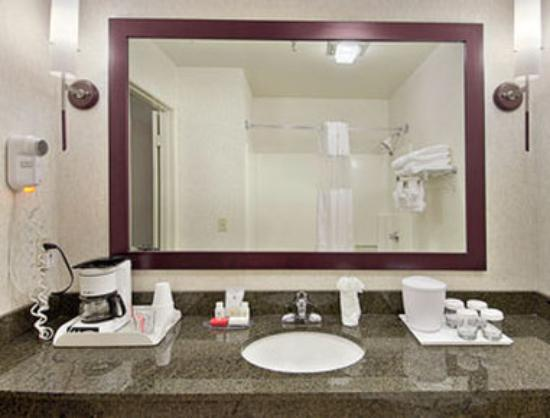 Ramada Poway: Bathroom