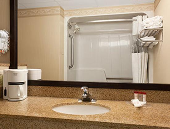 Ramada Levittown Bucks County : Bathroom