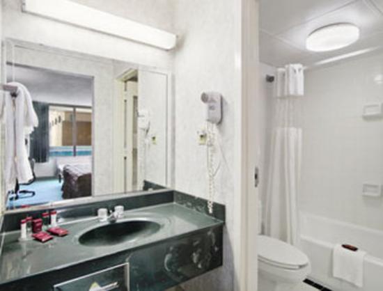 Ramada Roanoke : Bathroom
