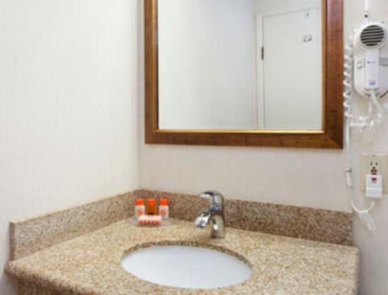 Howard Johnson Santa Cruz Beach Boardwalk: Bathroom