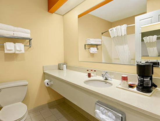 Ramada Limited Columbia: Bathroom