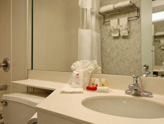 Ramada Limited Parsippany: Bathroom