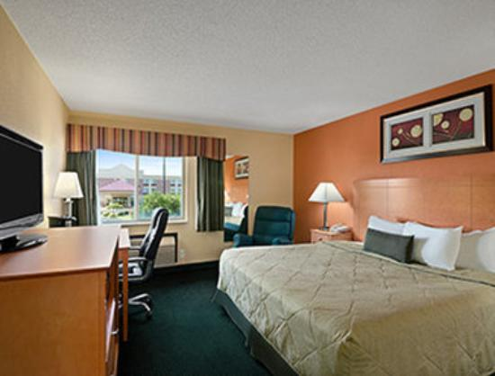 دايز إن راسينستورتيفانت: Standard King Bed Room