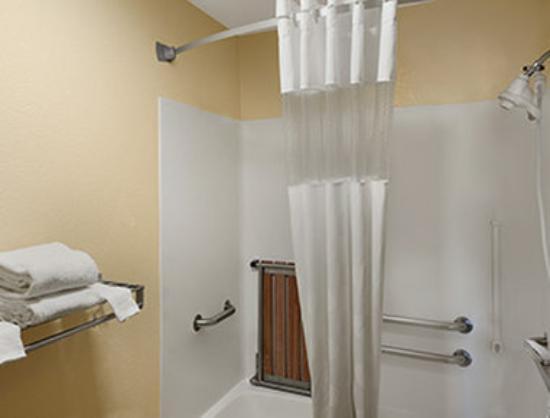 دايز إن راسينستورتيفانت: ADA Bathroom