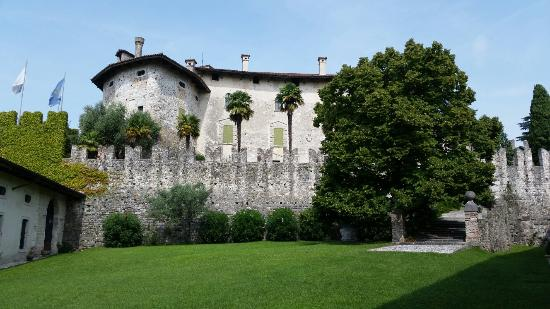 Fagagna, Italia: The garden