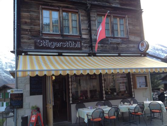 Stager Stübli: Front of Restaurant