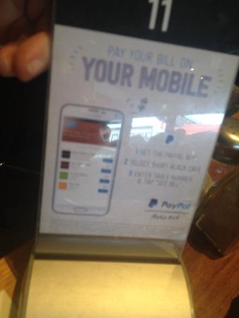 Short Black Cafe: Pay using your phone