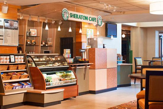 Sheraton Hartford Hotel at Bradley Airport: Sheraton Cafe