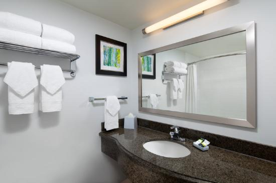 Four Points By Sheraton San Francisco Airport: Traditional King Bathroom