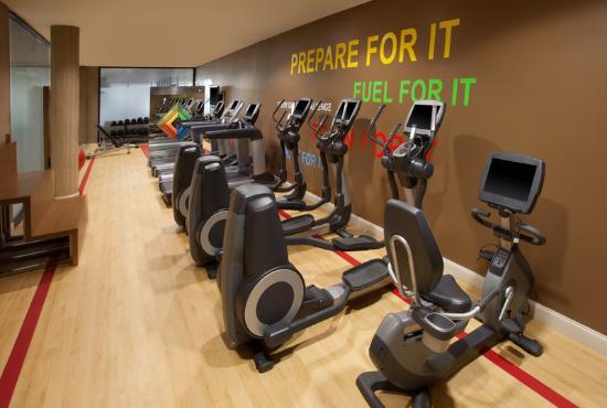 Sheraton Chapel Hill Hotel: Fitness Center