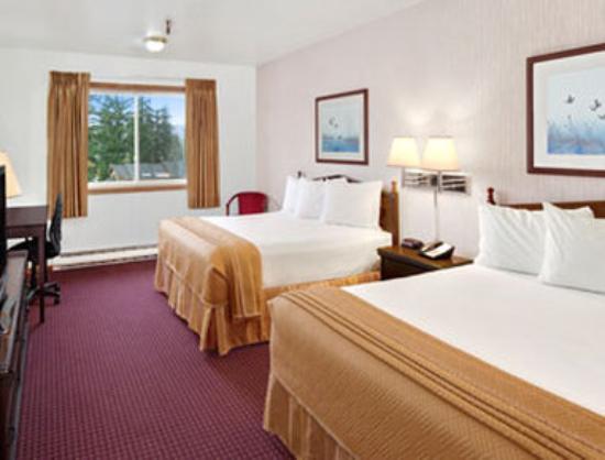 Travelodge Hotel Juneau: Standard Double Queen Room
