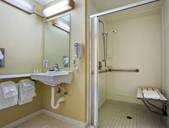 Travelodge at the Presidio San Francisco : Handicapped Bathroom