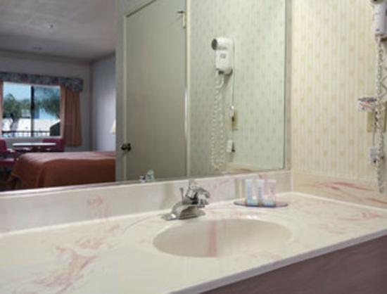 Lynwood Century Freeway Travelodge: Bathroom
