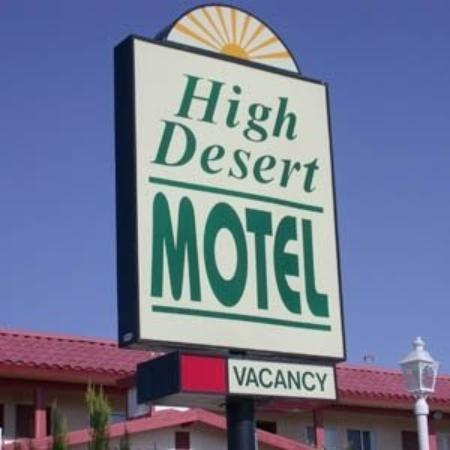 High Desert Motel: Exterior View