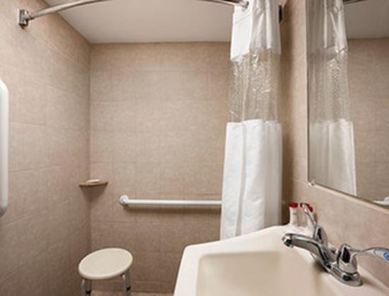 Ramada Rockville Centre: ADA Bathroom