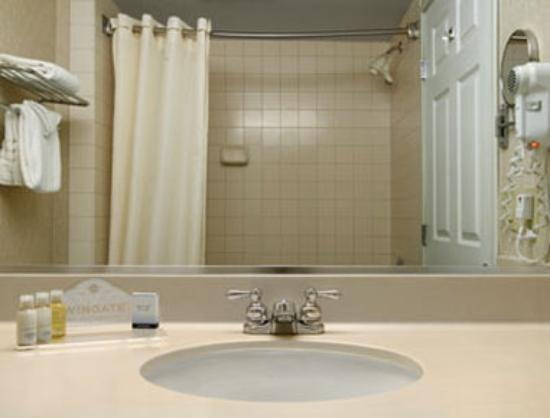 Wingate by Wyndham Vineland : Bathroom