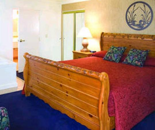 Cherry Tree Inn & Suites: Leelanau Suite Master Bedroom