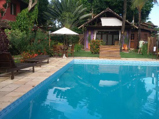 Pousada Mache: Área da piscina