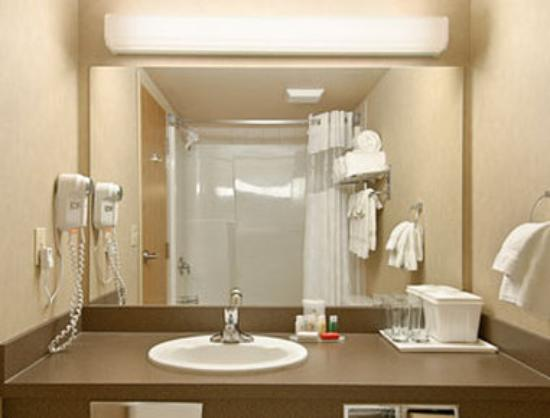 Ramada Airdrie Hotel and Suites: Bathroom
