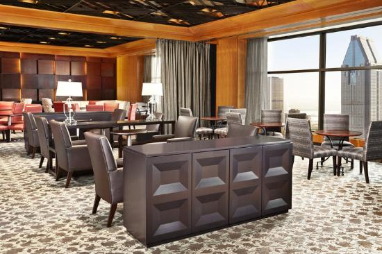 Sheraton Le Centre Montreal Hotel: Club Lounge