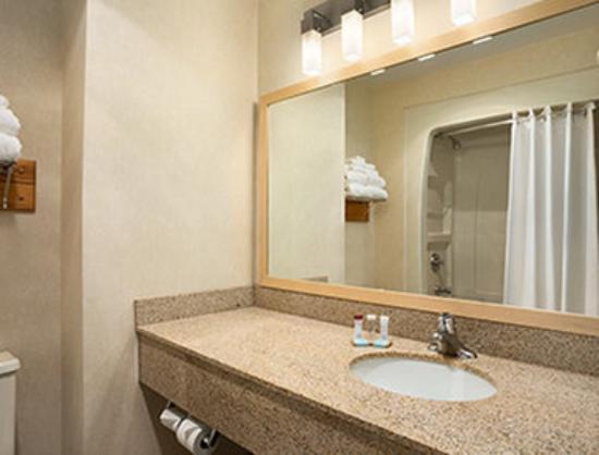 Travelodge Chatham: Bathroom
