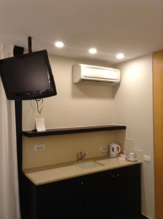 Rimonim Tower Hotel Ramat Gan: וככה נראה המטבחון