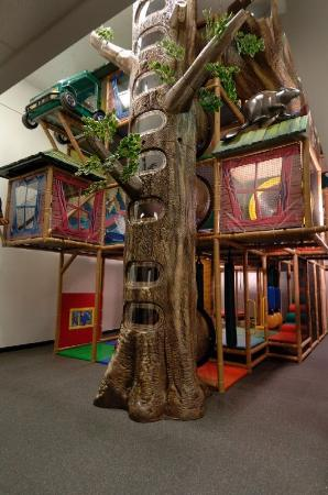 Douglas Fir Resort & Chalets: Giant Indoor Kids Playzone