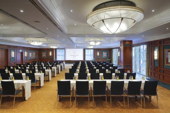Kempinski Hotel Bristol: Gartensaal parlamentarisch