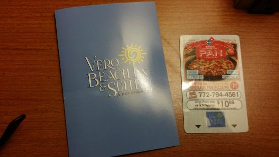 Vero Beach Inn & Suites: Room key