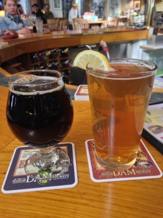 Dillon Dam Brewery: Yummy !