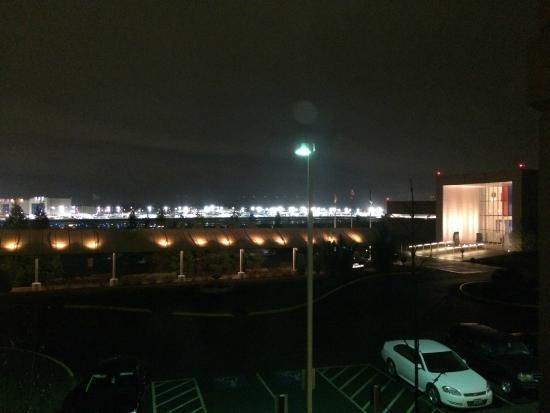 Hilton Garden Inn Seattle North / Everett: View Of Boeing Flight Line And  Flight Museum
