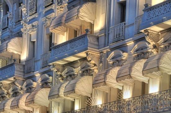 Hotel Splendid: hotel facade