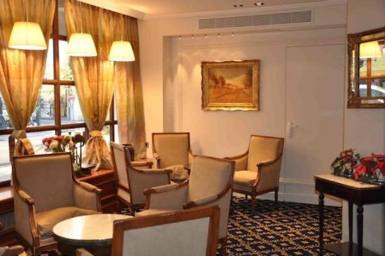 Hotel Splendid: lounge area