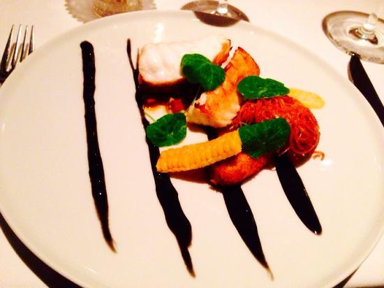 Saison: Monkfish With Chorizo, Squid & Crab