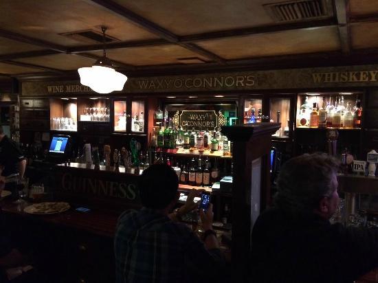 Waxy O'Connor Irish Pub & Eatery: The bar at Waxy O'Connor's