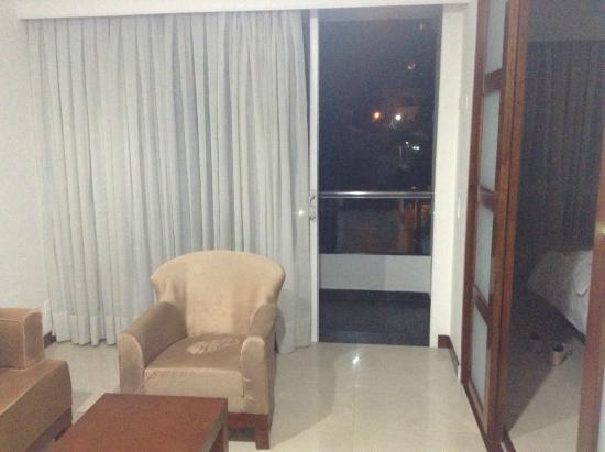 The Morgana Poblado Suites : una pequeña sala