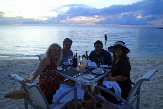 Sunset Dinner At Breezes Picture Of Cambridge Beaches